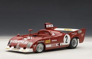 【送料無料】模型車 モデルカー スポーツカー アルファロメオキロスパ#ペスカローロベルalfa romeo 33tt 33 tt 12 1000 km spa 1975 2 pescarolo bell winner autoart 118