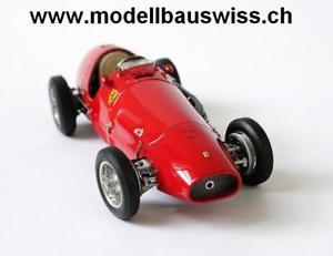 【送料無料】模型車 モデルカー スポーツカー フェラーリカルトferrari 500 f2 1953 cmc 118 raritt selten kult