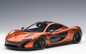 【送料無料】模型車 モデルカー スポーツカー マクラーレンオレンジオレンジカリセイロンベンケイソウautoart 76025 118 mclaren p1 volcano orange orange calipers neu