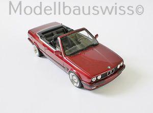【送料無料】模型車 モデルカー スポーツカー チューニングリムbmw e30 325 i cabriolet 118 1zu18 118 exklusive umbau tuning felgen