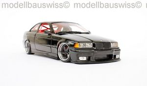 【送料無料】模型車 モデルカー スポーツカー ブラックチューニングbmw m3 e36 schwarz 118 1zu18 tuning umbau