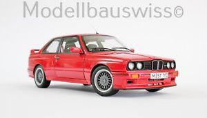 【送料無料】模型車 モデルカー スポーツカー スポーツエボリューションレッドbmw m3 e30 sport evolution rot autoart 70561 118 1zu18 118 selten