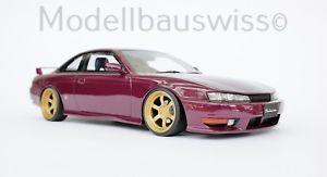 【送料無料】模型車 モデルカー スポーツカー シルビアチューニングモデルスイスnissan silvia s14a 118 1zu18 118 umbau tuning wwwmodellbauswissch