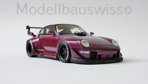 【送料無料】模型車 モデルカー スポーツカー ポルシェソフトウェアライセンスラフコンセプトチューニングリムporsche rwb rauh welt begriff 993 118 1zu18 118 tuning felgen umbau