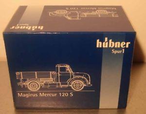 【送料無料】模型車 モデルカー スポーツカー ヒューブナートラックhbner 1 7023 lkw magirus deutz merkur 120 s, blau