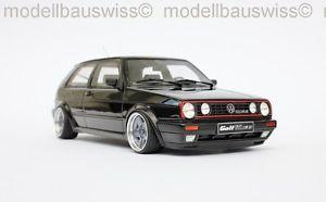 【送料無料】模型車 モデルカー スポーツカー ゴルフブラックチューニングvw golf 2 gti 16v schwarz 118 1zu18 tuning umbau