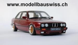 【送料無料】模型車 モデルカー スポーツカー チューニングbmw e30 325is rot 118 tuning limitiert rar
