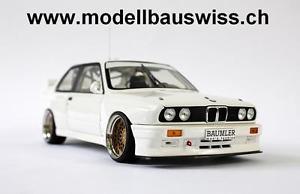 【送料無料】模型車 モデルカー スポーツカー プレーンボディbmw m3 e30 plain body 1992 118 1zu18