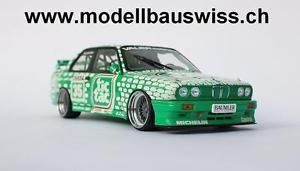 【送料無料】模型車 モデルカー スポーツカー チューニングbmw m3 e30 dtm 1992 burgstaller tictac nr35 118 tuning rar