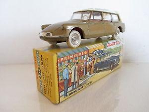 【送料無料】模型車 モデルカー スポーツカー シトロエンブレークステーションワゴンdinky 539 citroen id19 break station wagon mib 9 en boite very nice lk