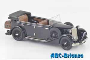 【送料無料】模型車 モデルカー スポーツカー アルファロメオプレabc 345 alfa romeo 6c 2300 torpedo presidenziale 1934