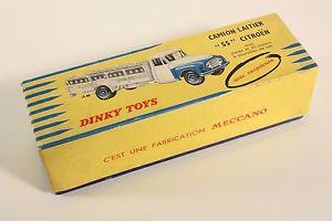 送料無料 模型車 モデルカー スポーツカー トラックシトロエンボックスneues angebotdinky toys 586 camion laitier 55 citroen only box ab1891