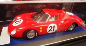 【送料無料】模型車 モデルカー スポーツカー フェラーリルマンls18lm02 by looksmart ferrari 250 24h le mans 1965 118