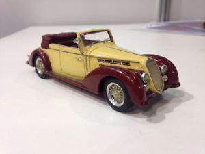 【送料無料】模型車 モデルカー スポーツカー アルファロメオabc 325 alfa romeo 2300b castagna 1938