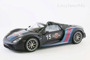 【送料無料】模型車 モデルカー スポーツカー ポルシェスパイダーパッケージマティーニ