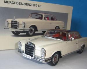 【送料無料】模型車 モデルカー スポーツカー メルセデスベンツクーペホワイト118 mercedes benz 280 se coupe 1968 white 76287 autoart ovp