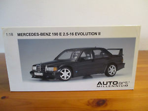 【送料無料】模型車 モデルカー スポーツカー メルセデスベンツエボリューション gor 118 autoart mercedes benz 190e 25 16 evolution ii neu ovp