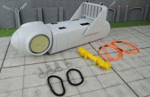 【送料無料】模型車 モデルカー スポーツカー ホワイトタービンweiss brothers windkraft turbine mit narbe als ladegut wb001000