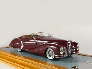 【送料無料】模型車 モデルカー スポーツカー ロードスターパリショーオリジナルilario delahaya 135ms roadster saoutchik sn801424 paris show original car 1949