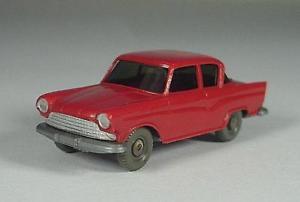 【送料無料】模型車 モデルカー スポーツカー wiking alt borgward arabella in rarem rot 60er jahre die seltenste farbe
