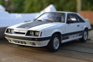 【送料無料】模型車 モデルカー スポーツカー ムスタングツイスターmustang gt twister ii 1985 gmp 118