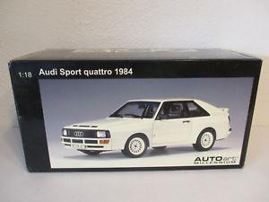 【送料無料】模型車 モデルカー スポーツカー アウディスポーツクワトロ gol 118 autoart audi sport quattro 1984 neu ovp