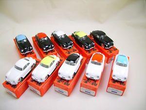 【送料無料】模型車 モデルカー スポーツカー ポルシェシリーズデquiralu porsche 356a srie complte de 10 voitures