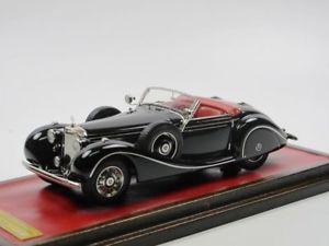 【送料無料】模型車 モデルカー スポーツカー メルセデスベンツkロードスタークルップneues angebotemc 1939 mercedesbenz 540k swb spezialroadster alfried krupp 143 limited 60