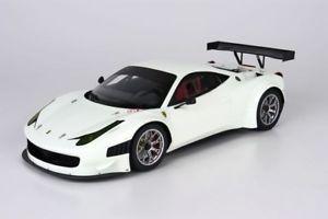 【送料無料】模型車 モデルカー スポーツカー モデルフェラーリホワイトbbr models ferrari 458 gt3 2012 avus weiss 100 118 limitiert 130