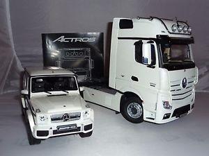 【送料無料】模型車 モデルカー スポーツカー メルセデスアクトロスギガベンツトラックトラックスペース