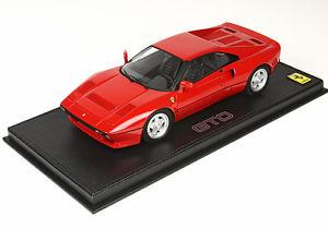 【送料無料】模型車 モデルカー スポーツカー フェラーリferrari 288 gto red1984 bbr 118 p18112 *** rare ***