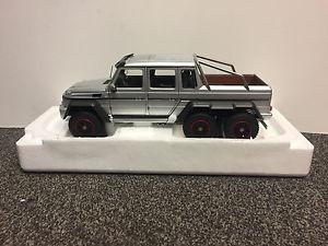 【送料無料】模型車 モデルカー スポーツカー メルセデスベンツシルバーmercedesbenz mb g 63 amg 6x6 silver 118 autoart