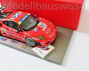 【送料無料】模型車 モデルカー スポーツカー フェラーリルマン#ferrari f430 gt2 24h le mans 2007 87 bbr ab18013 118 1zu18 118 rar selten