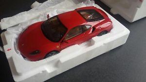 【送料無料】模型車 モデルカー スポーツカー フェラーリクーペヌォーヴァロッサbbr ferrari f430 430 coupe rossa red nuova certificato 18 118 boxed