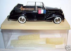 【送料無料】模型車 モデルカー スポーツカー キットコレクションタルボットレコードカブリオレプレrare kit resine ma collection talbot lago record cabriolet presidentielle 1950