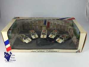 【送料無料】模型車 モデルカー スポーツカー エリーゼルノー143 solido rare cret elysee avec 6 renault 25 elections du 24 avril 1988
