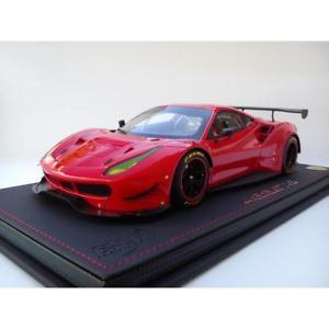 【送料無料】模型車 モデルカー スポーツカー フェラーリコルサショーケース118 ferrari 488 gte red corsa 322 edlimite 24p bbr p18122v1 boite vitrine
