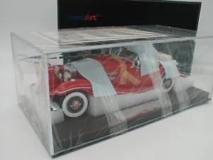 【送料無料】模型車 モデルカー スポーツカー フロントメルセデスベンツfrontiart f01106 mercedes benz 500k cabrio baujahr 1936 rot 118 rar