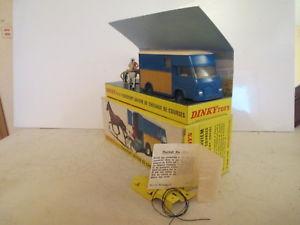 【送料無料】模型車 モデルカー スポーツカー ボックスdinky 571 saviem goelette sb2 theault horse box sulky mib 9 en boite sonice lk