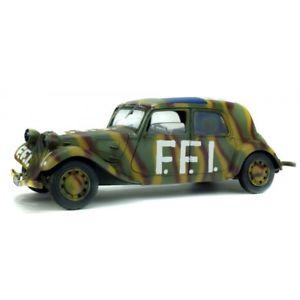 【送料無料】模型車 モデルカー スポーツカー シトロエントションsolido 421184130 118 citroen traction 11cv ffi 1944 neu