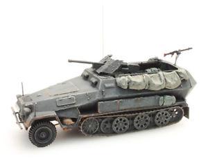 【送料無料】模型車 モデルカー スポーツカー ドイツモデルartitec 387111gr 187h0 wwii dt sdkfz 25110b mit 3,7cm pak fertigmodell