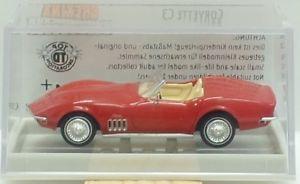 【送料無料】模型車 モデルカー rot スポーツカー モデルカー シボレーコルベットbrekina ovp nr19969 chevrolet corvette c3 convertible rot ovp, ブランド探検隊:448f97ec --- reisotel.com