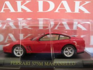 【送料無料】模型車 モデルカー スポーツカー フェラーリマラネロロッサモデルカーdie cast 143 modellino auto ferrari 575m maranello rossa
