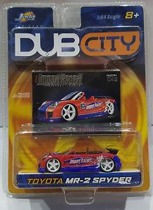 【送料無料】模型車 モデルカー スポーツカー ダブシティインポートレーサートヨタスパイダーjada toys 2003 dub city import racer toyota mr2 spyder 164