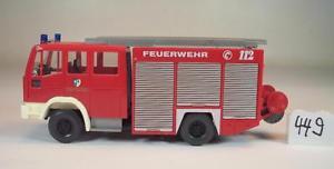 【送料無料】模型車 モデルカー スポーツカー ニュートラル#wiking 187 iveco magirus lschfahrzeug feuerwehr neutral 449