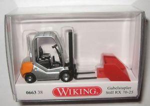 【送料無料】模型車 モデルカー スポーツカー バケツフォークリフトホwiking 066338 still rx 7025 gabelstapler mit schaufel 187 ho