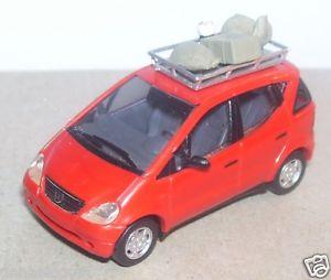 【送料無料】模型車 モデルカー スポーツカー マイクロブッシュホメルセデスクラッセmicro busch ho 187 mercedes classe a amp; bagages