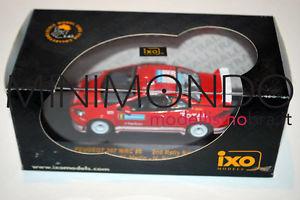 【送料無料】模型車 モデルカー スポーツカー プジョーラリースウェーデンマーティンネットワークpeugeot 307 wrc rally sweden 2005 martin 143 ixo ram183