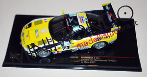 【送料無料】模型車 モデルカー スポーツカー シボレーコルベットルマンネットワークchevrolet corvette c5r 24h le mans 2007 143 ixo lmm128