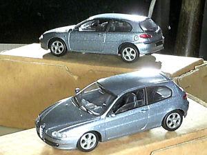 【送料無料】模型車 モデルカー スポーツカー アルファロメオシュルalfa romeo 147 solido 2000 tbegrise